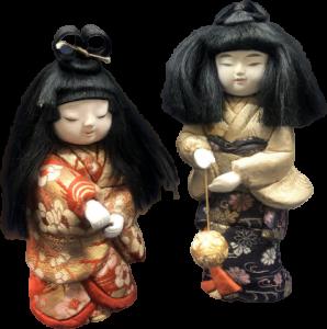 日本人形の買取品目