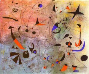ジョアン・ミロの代表作品